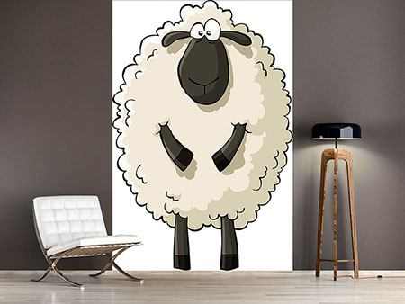 Wandbespannung The Sheep